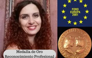 Medalla de Oro – Foro Europa 2001